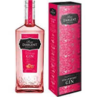 Rose d'Argent Strawberry Gin Gift box, 70 cl