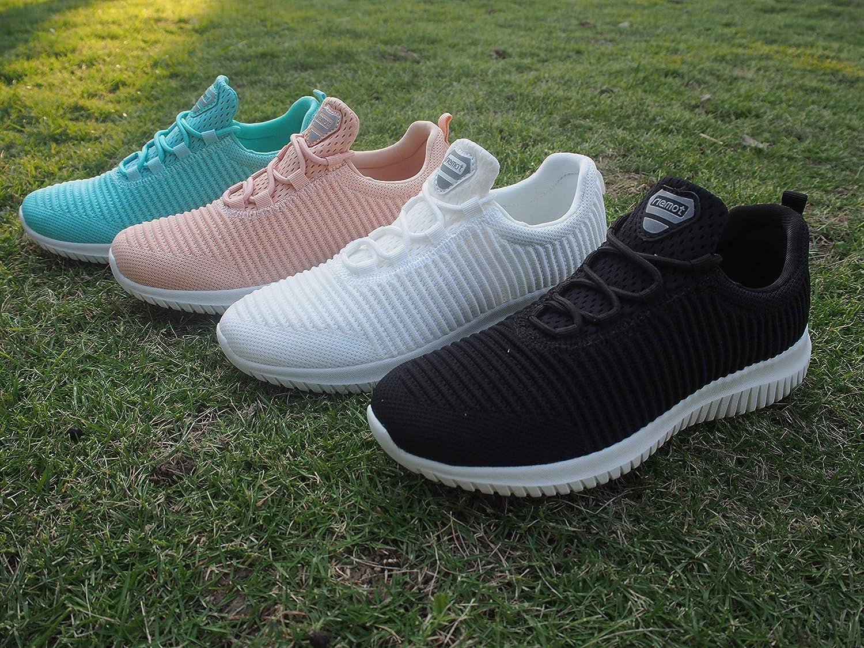 riemot Zapatillas Deportivas para Hombre Zapatos para Correr Deporte al Aire Libre Running Fitness Gimnasio S/úper Ligeras y Transpirables Sneakers Calzado Casual