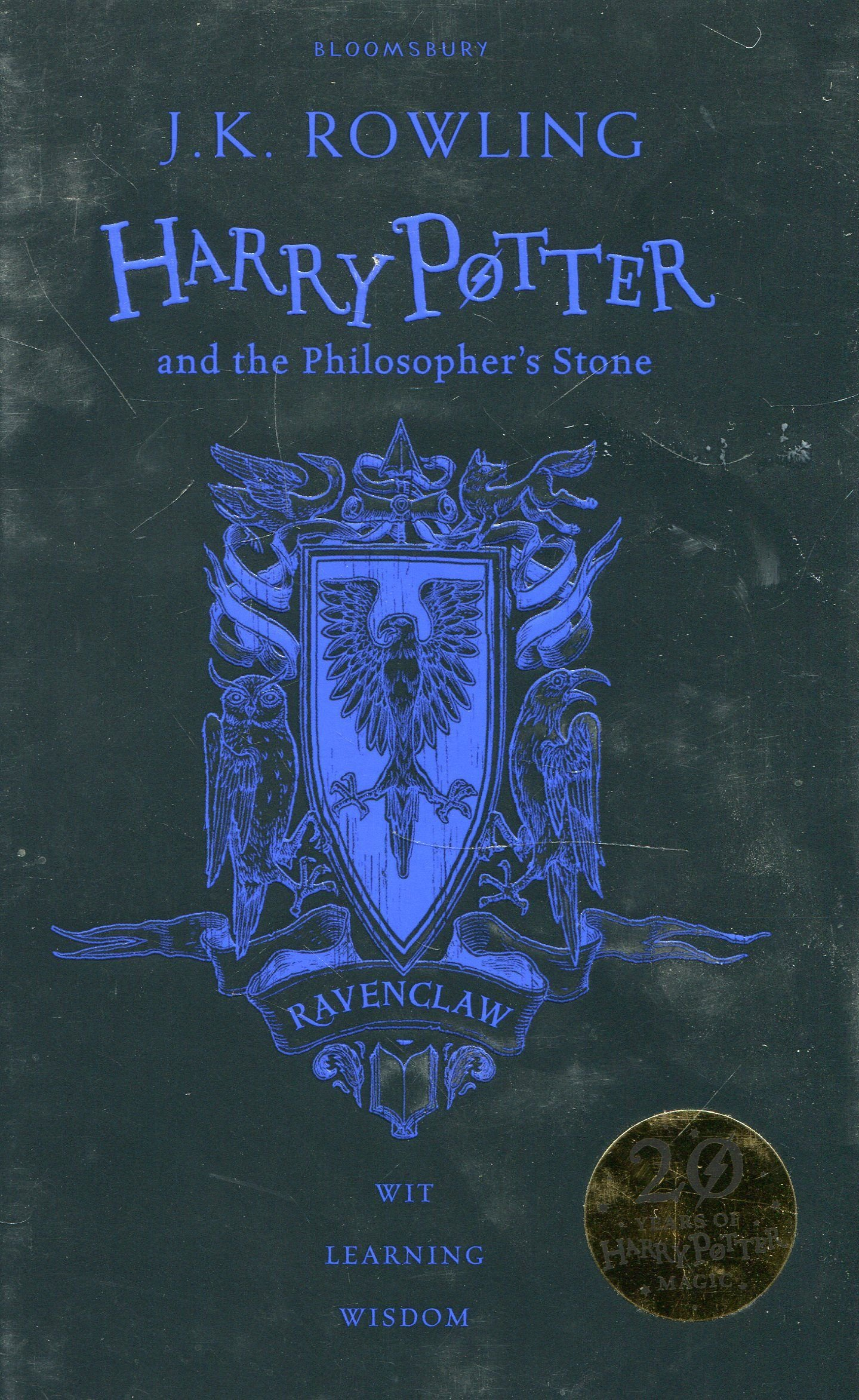 Harry Potter and the Philosopher's Stone – Ravenclaw Edition (Inglese) Cartonato – 1 giu 2017 J.K. Rowling 1408883783 FICTION / Fantasy / General 7-11 ans