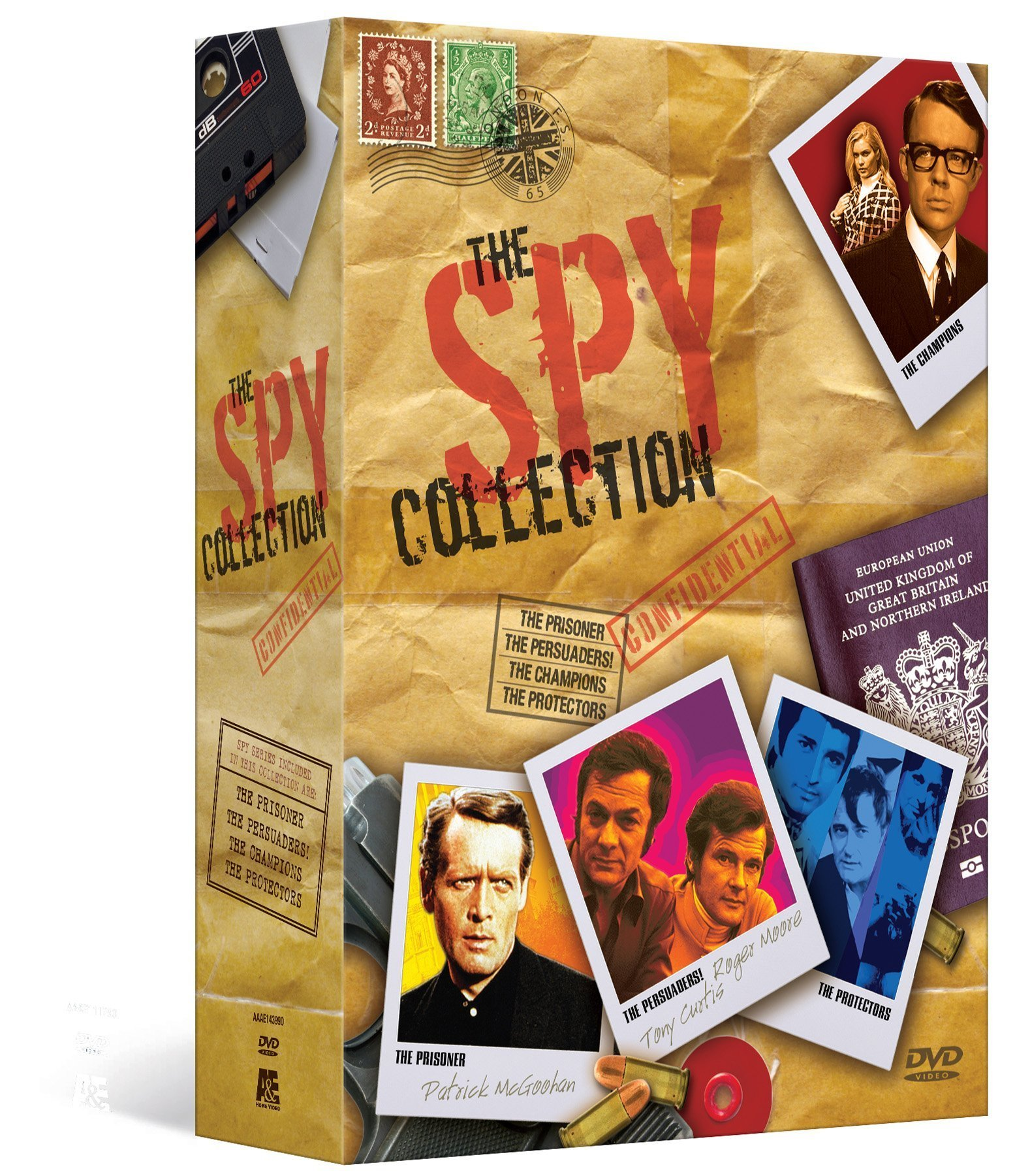 The Spy Collection Megaset (The Prisoner / The Persuaders / The Champions / The Protectors) by A&E