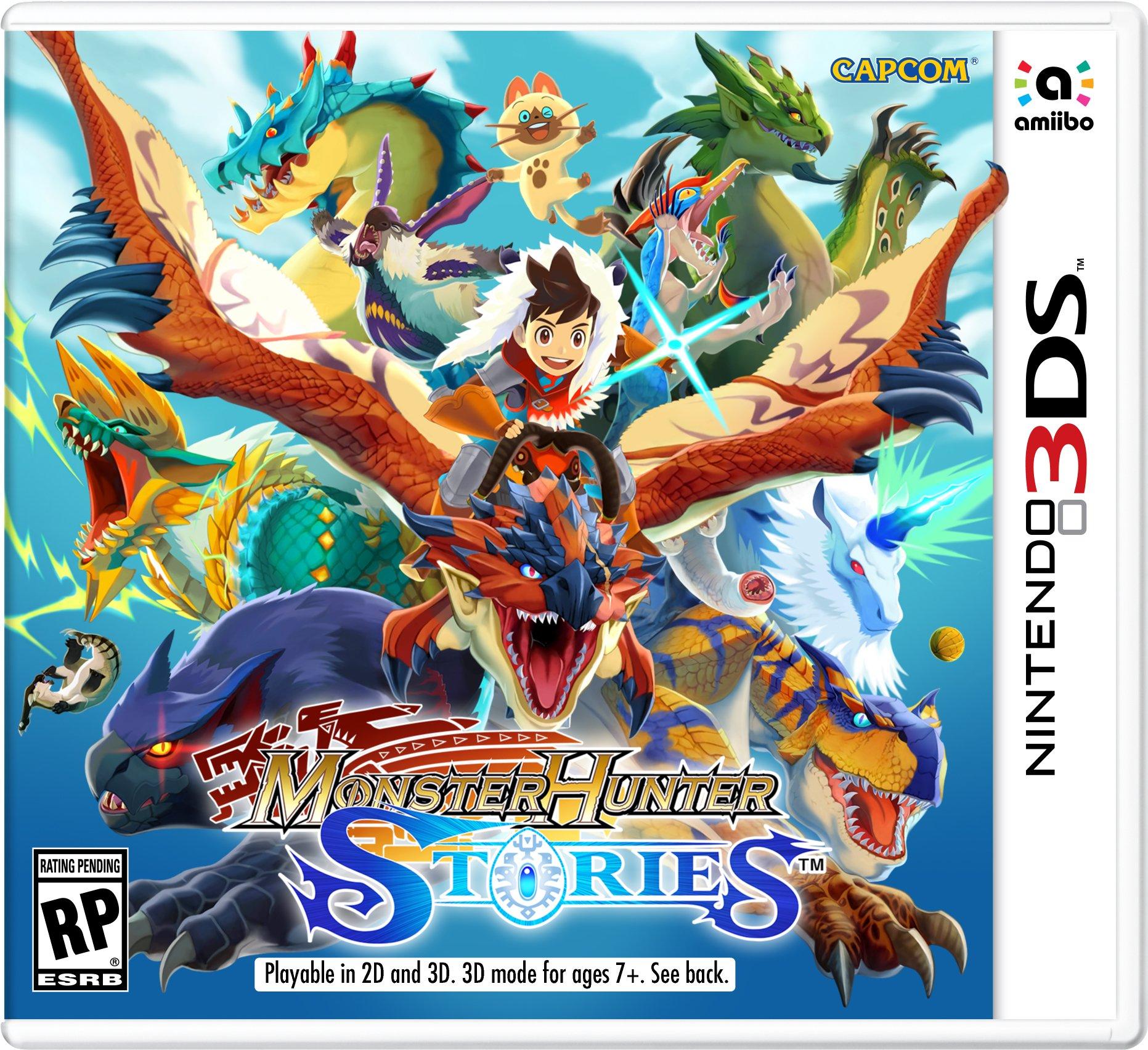 Monster Hunter Stories - 3DS [Digital Code]