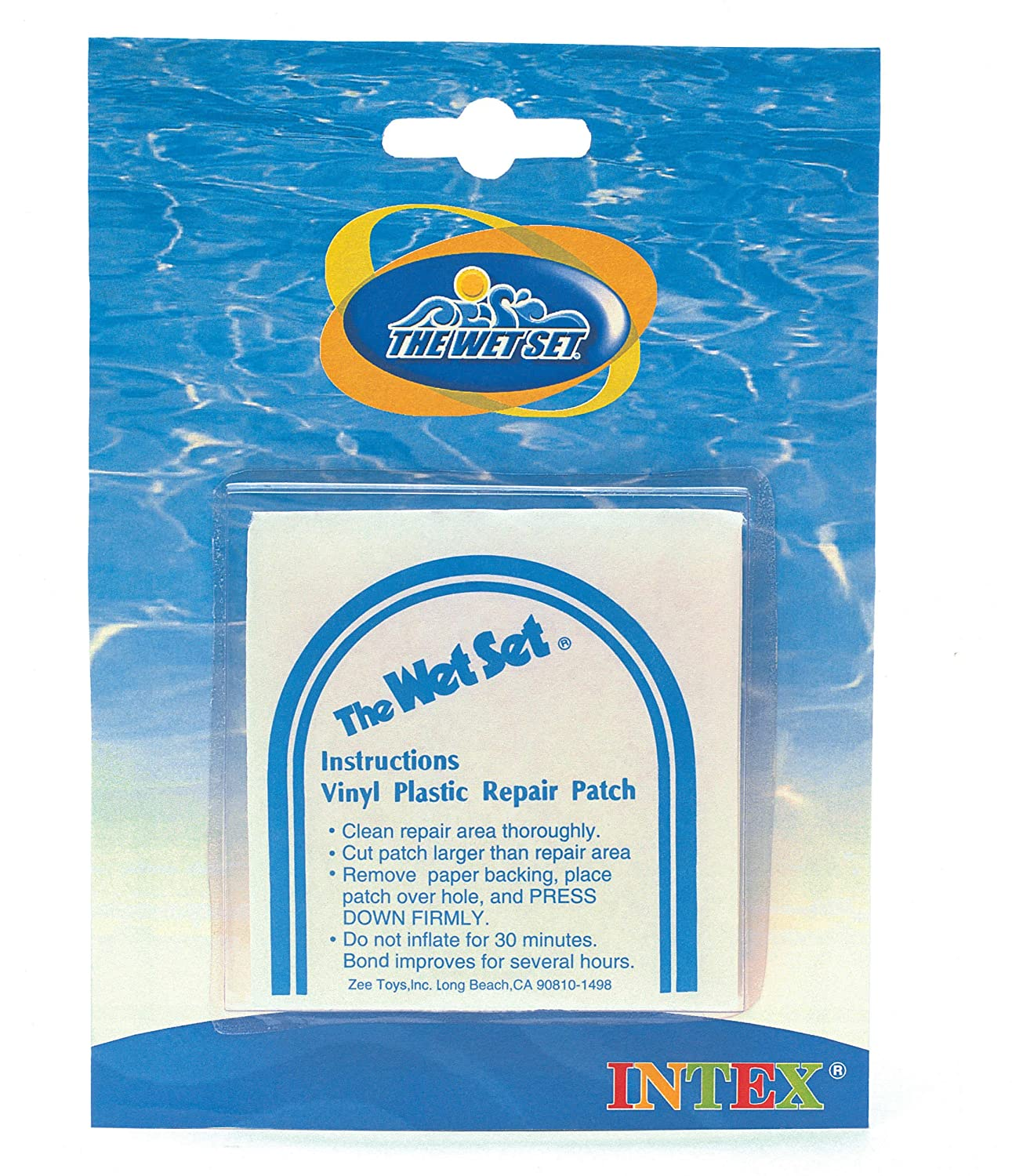 Amazon.com: Intex Wet Vinyl Plastic Repair Patch. 6 Count: Toys & Games