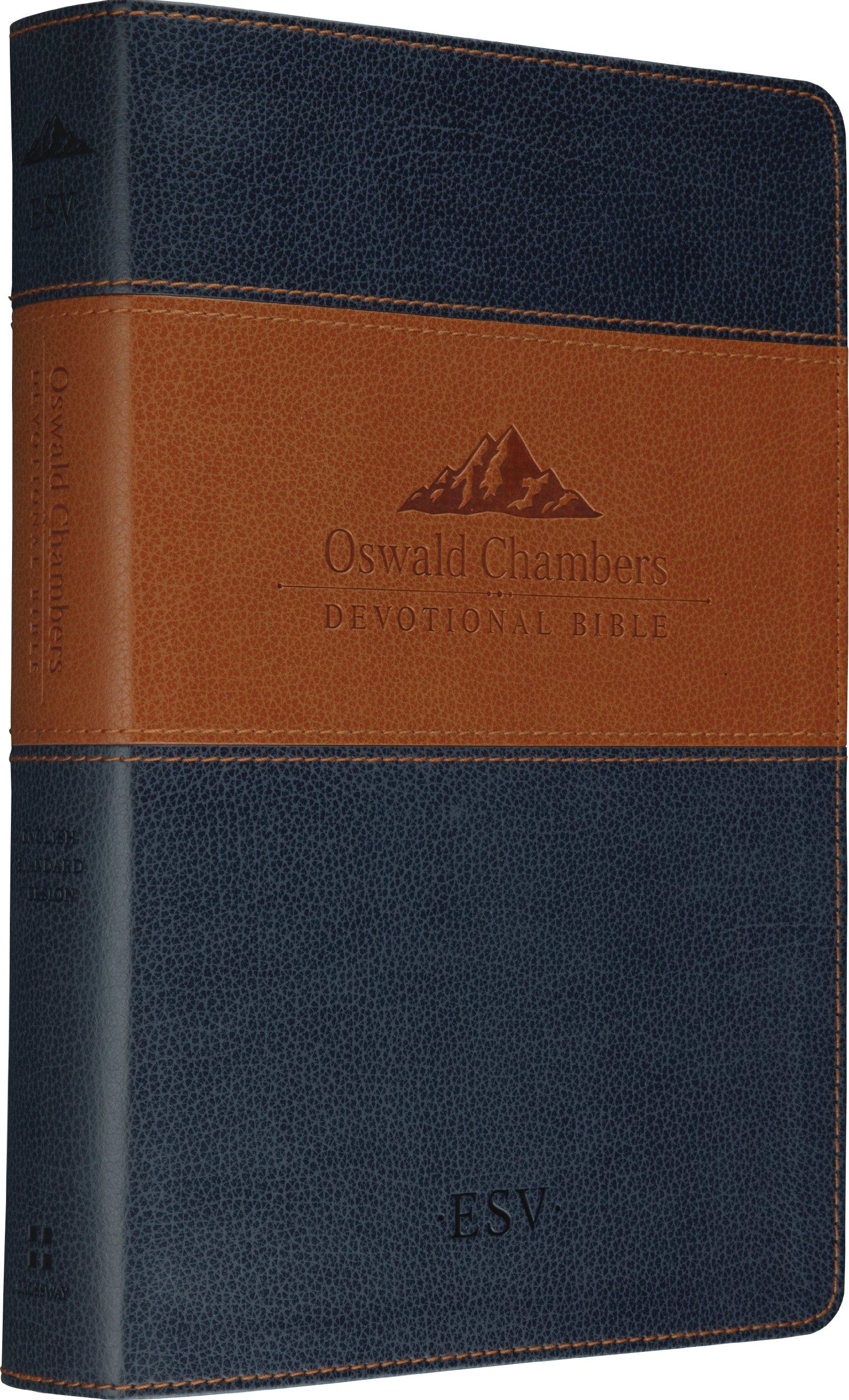 ESV Oswald Chambers Devotional Bible (TruTone, Navy/Tan) pdf