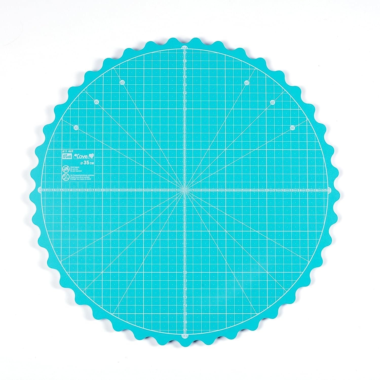 Prym Love rotante tappetino di taglio rotondo 35 cm, verde, 7 x 5 x 3 cm 7x 5x 3cm PRYM_611469-1