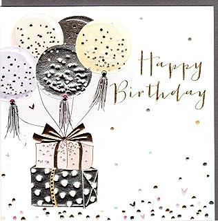 Happy Birthday Karte Für Frauen.Edition Seidel Set 6 Exklusive Premium Geburtstagskarten Mit Feiner