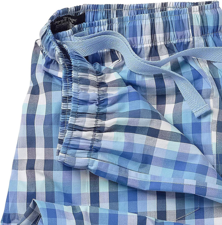Savile Row Herren Schlafanzughose 100/% Baumwolle//Jersey Classic Casual Weiche Hose Loungewear Nachtw/äsche f/ür Herren