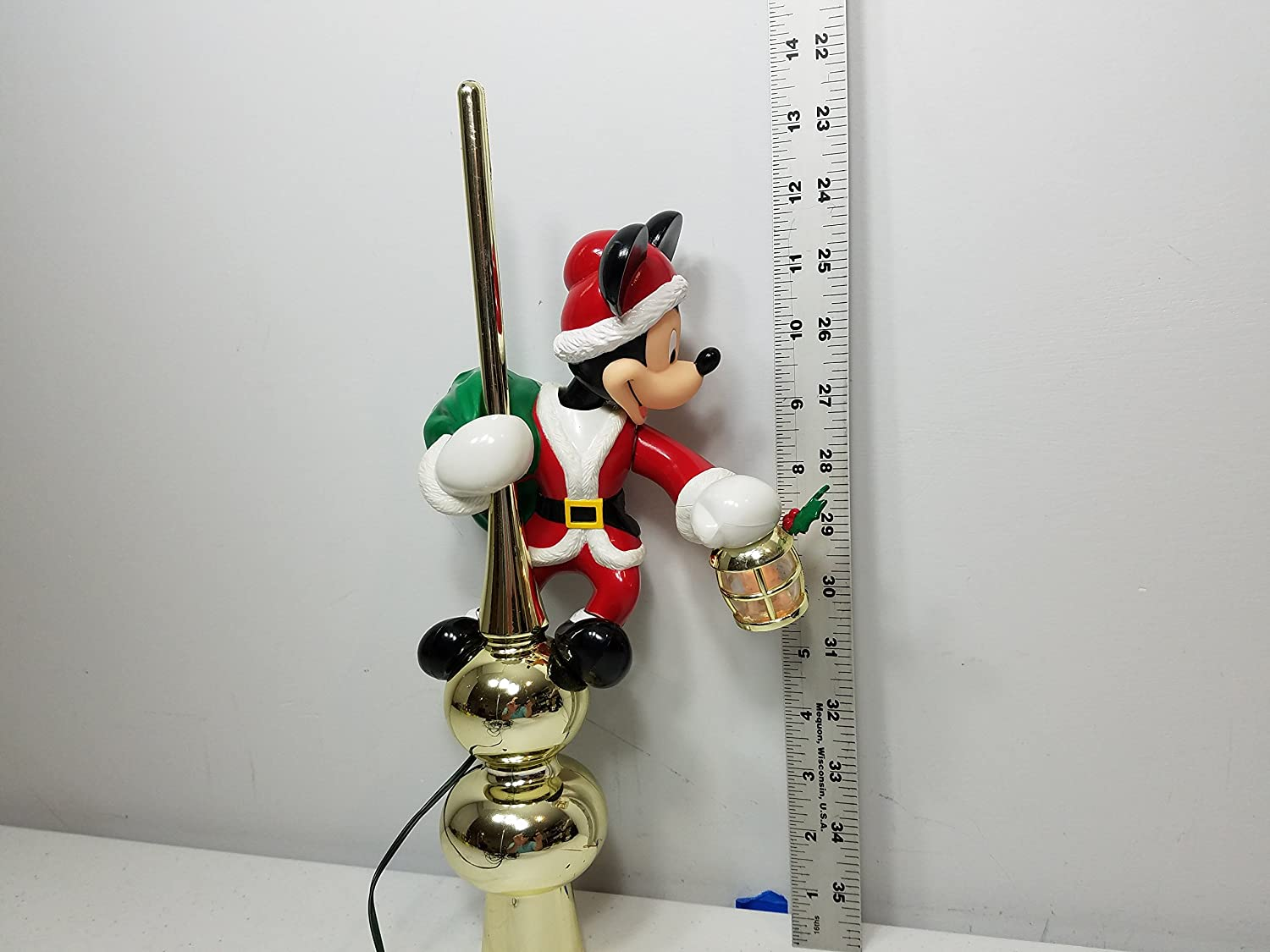 Amazon.com: Mr Christmas Disney Mickey Mouse Animated Tree Topper ...