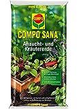 Compo 1062302 - Terriccio per coltivazione ed erbe aromatiche, 10litri