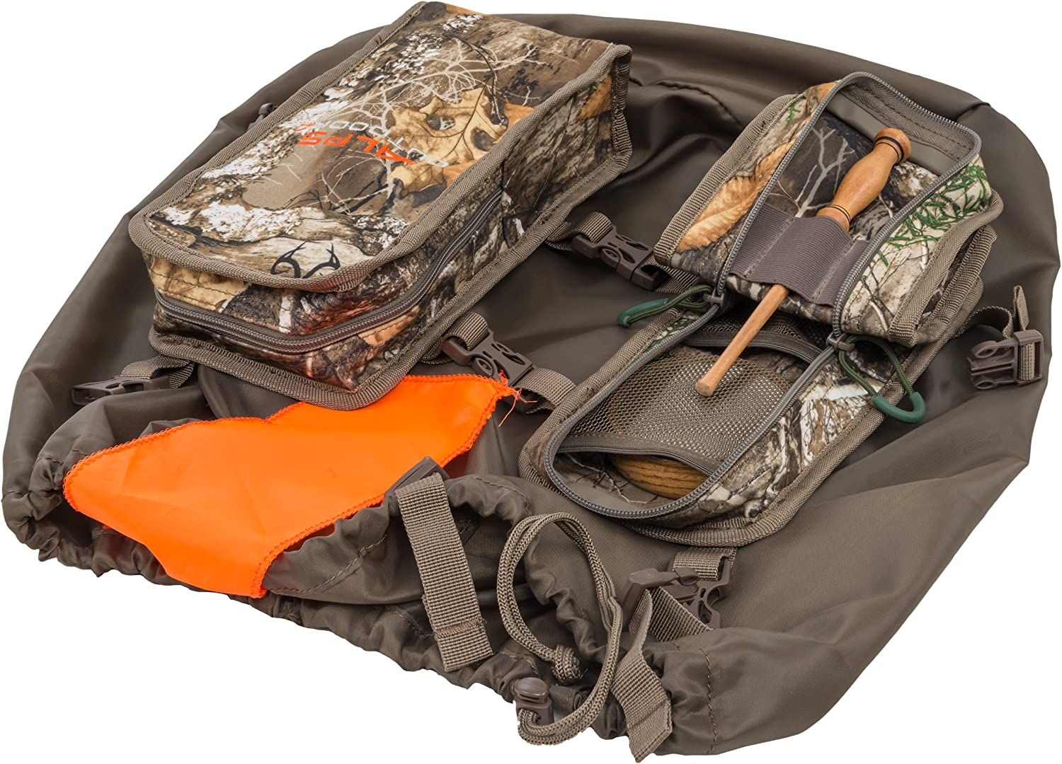 ALPS OutdoorZ Turkey Call Pockets & Game Bag, Realtree Edge