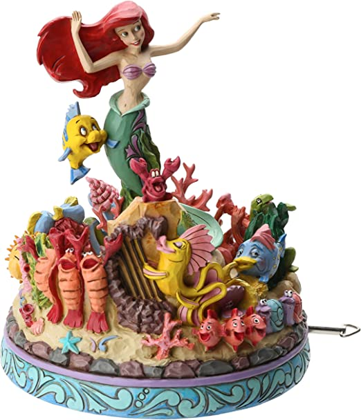 Figurine Disney Tradition Ariel boite à musique Ariel Under the Sea