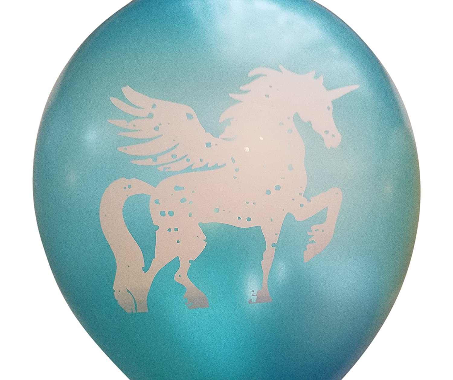 Purple Gold 25 Pack Unicorn Party Balloons Silver Teal