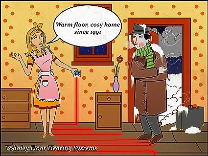 Radiant Warm Tile Under Floor Heating System 260 300 Sqft 24 28sq