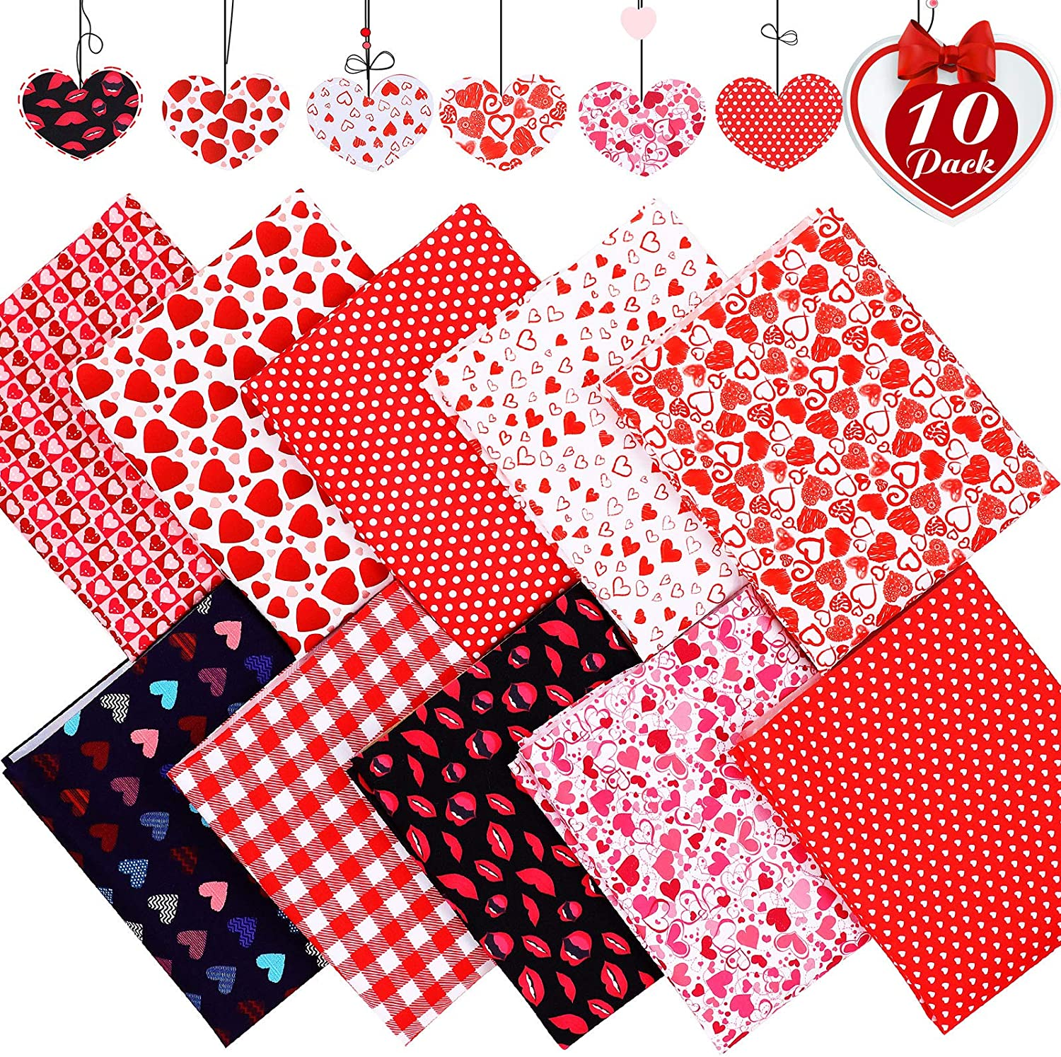 quilting fat quarter mask making Red roses 100/% cotton
