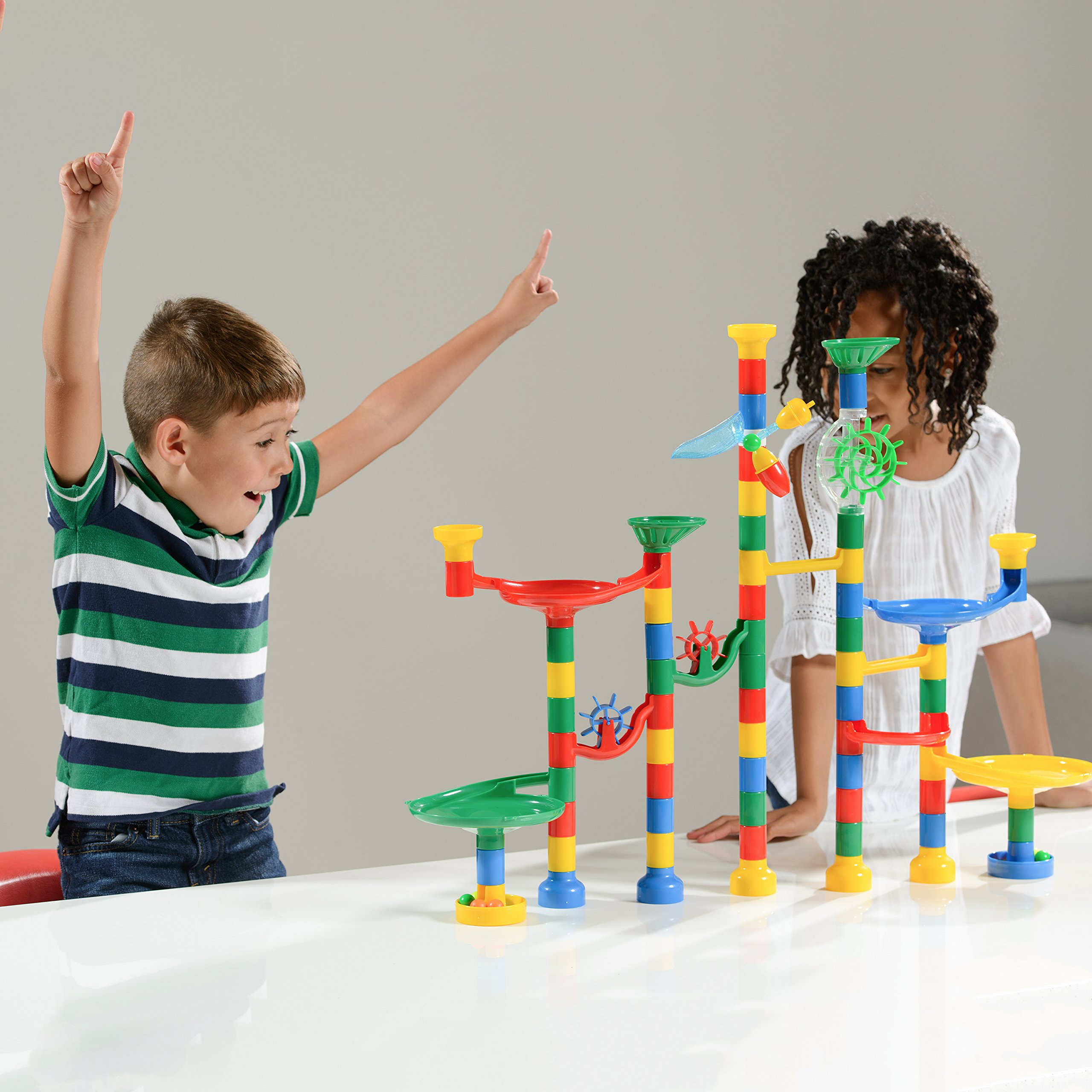 "Marble Toys For Boys : Galleon usa toyz marble run building games ""marble"