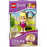 LEGO Friends Stephanie Keychain Light - 2.75 Inch Perfect for Backpacks, Keychains - Moving Parts, Long Lasting LED's