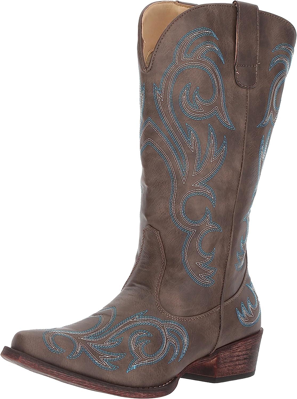 | Roper Women's Riley Western Boot | Mid-Calf