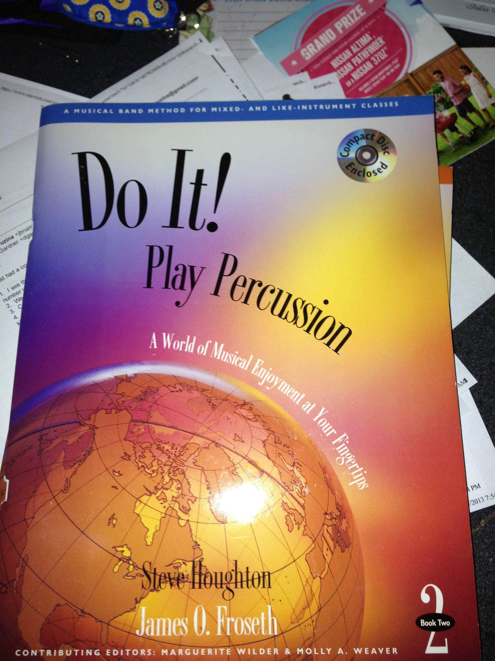 Do It! Play Percussion - Book 2 & CD