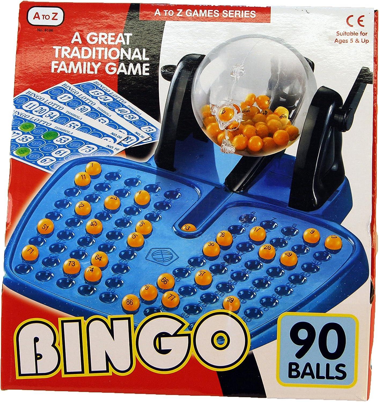 A to Z 08186 - Juego de Bingo, Multicolor: Amazon.es: Juguetes y juegos