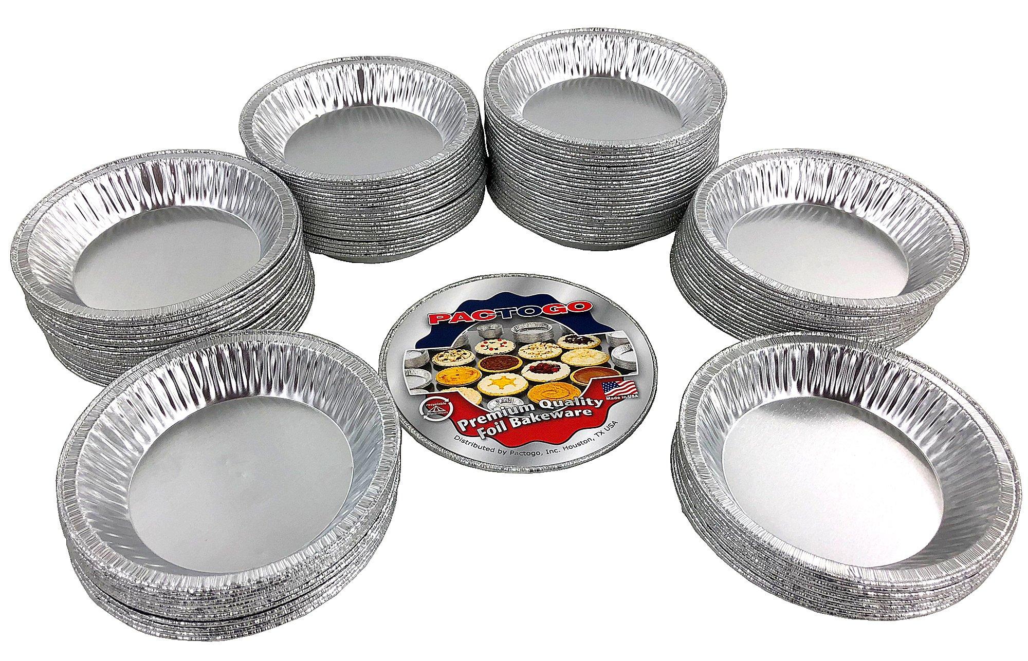 Pactogo 4 1/2'' Foil Tart Pan 7/8'' Deep - Mini Baking Pie Tins (Pack of 500) by PACTOGO (Image #2)