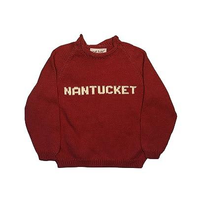 Littlest Enthusiast Nebraska Collegiate Custom Name Sweater