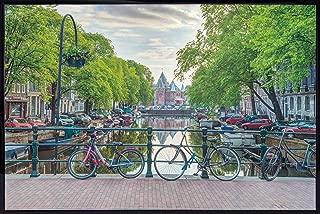 product image for Amsterdam By Assaf Frank Poster Print (36x24) (Black Hardboard Frame)