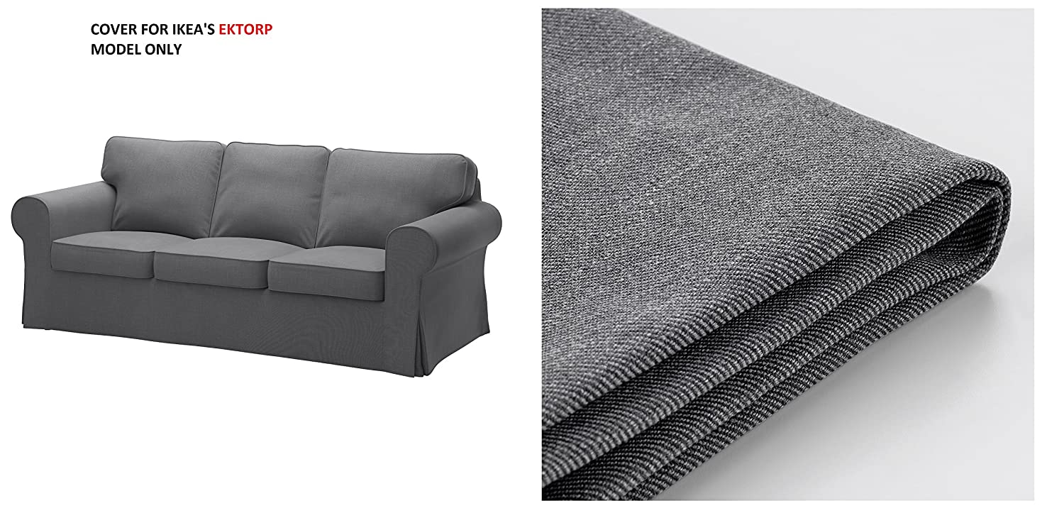 Amazon.com: IKEA - Funda para sofá Ektorp, color gris oscuro ...
