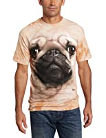 The Mountain Maglietta Pug Face Dogs Adulto Unisex