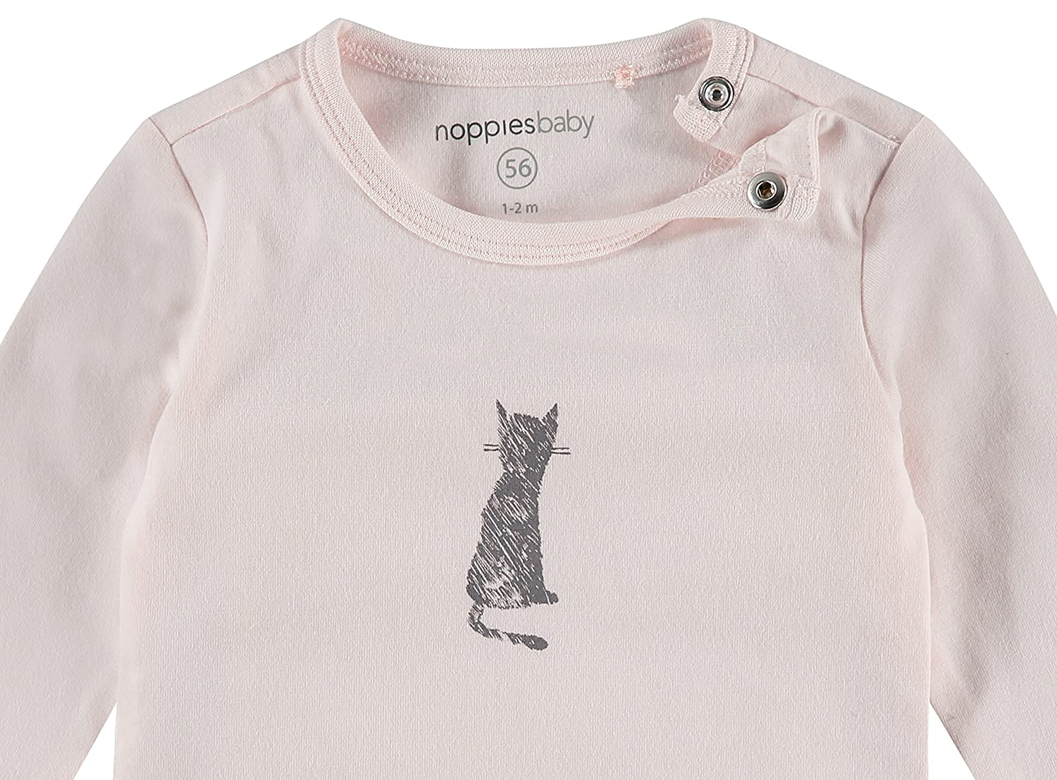 Noppies Baby Girls U Tee Ls Kalamazoo T-Shirt