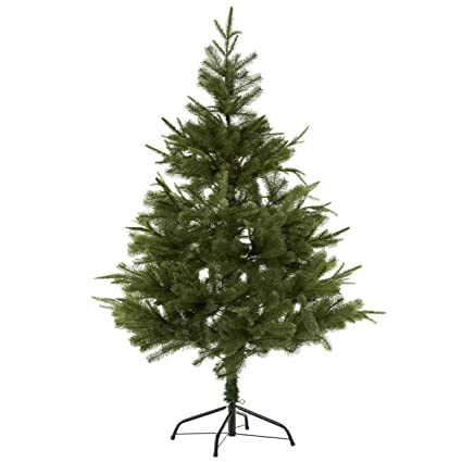 Lomos Artificial Hinged Christmas Tree Made Of Recycled Material Including Metal Stand 150 Cm High And Very Opaque Having 720 Tips