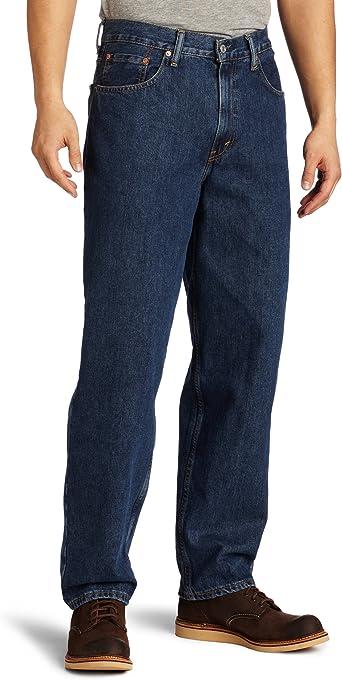 Levi S Pantalones Vaqueros Big Tall 560 De Ajuste Comodo Para Hombre Amazon Es Ropa Y Accesorios