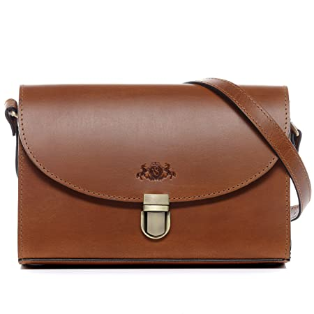 SID   VAIN Real Leather Shoulder Bag Adele Medium Tote Bag Handbag  top-Handle Bag Leather Bag Women´s Bag Brown  Amazon.co.uk  Luggage 5c34e0938192e