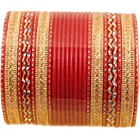 """Touchstone""""Colorful Bangle Collection"""" Indian Bollywood Alloy Metal And Textured Silk Thread Wrist Beautifier Designer…"""