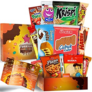 Midi Premium International Snacks Variety Pack Care Package, Ultimate Assortment of Turkish Treats, Mix variety pack of snacks, Foreign Candy or Foreign Snacks Box