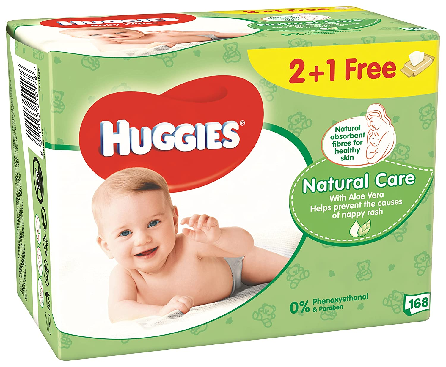 Huggies Natural Care Toallitas para Bebé - 3 Unidades: Amazon.es: Amazon Pantry