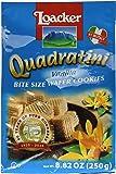 Loacker Quadratini Vanilla Wafer Cookies ( 250 g )