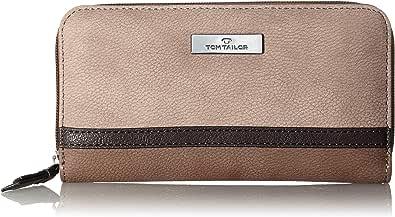 Tom Tailor Acc Elin, Billetera para Mujer, marrón, Large