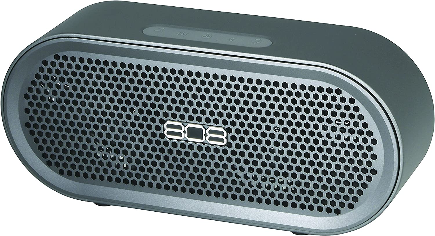 Wireless, Portable Bluetooth Speaker, TXS from 808 Audio with 17 hr Battery, Bass Boost for Premium Sound, Heavy Duty, Durable, Anodized Aluminum Casing for Indoor or Outdoor, at Home or on The Road