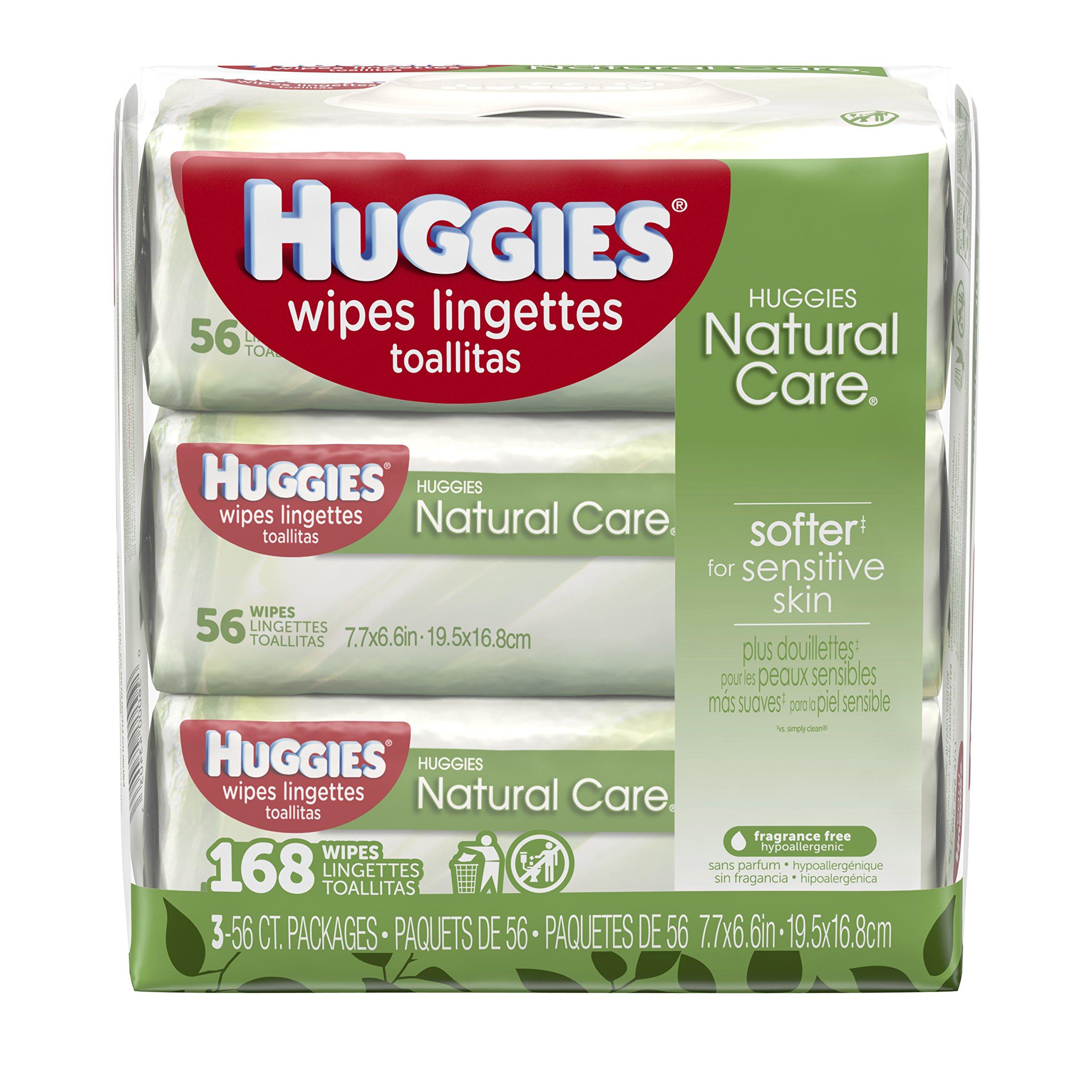 Huggies Wipes Natural Care