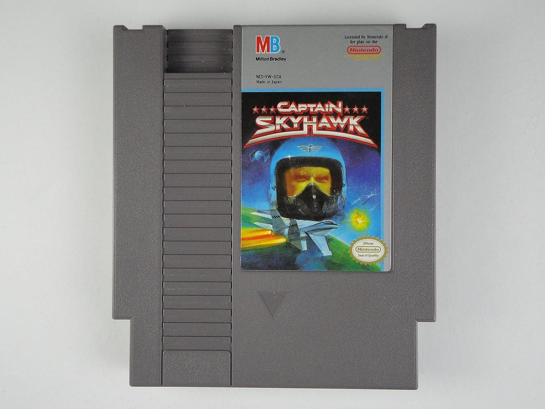 Captain Sky Hawk: FOR NES NINTENDO BY MILTON BRADLEY: Video Games