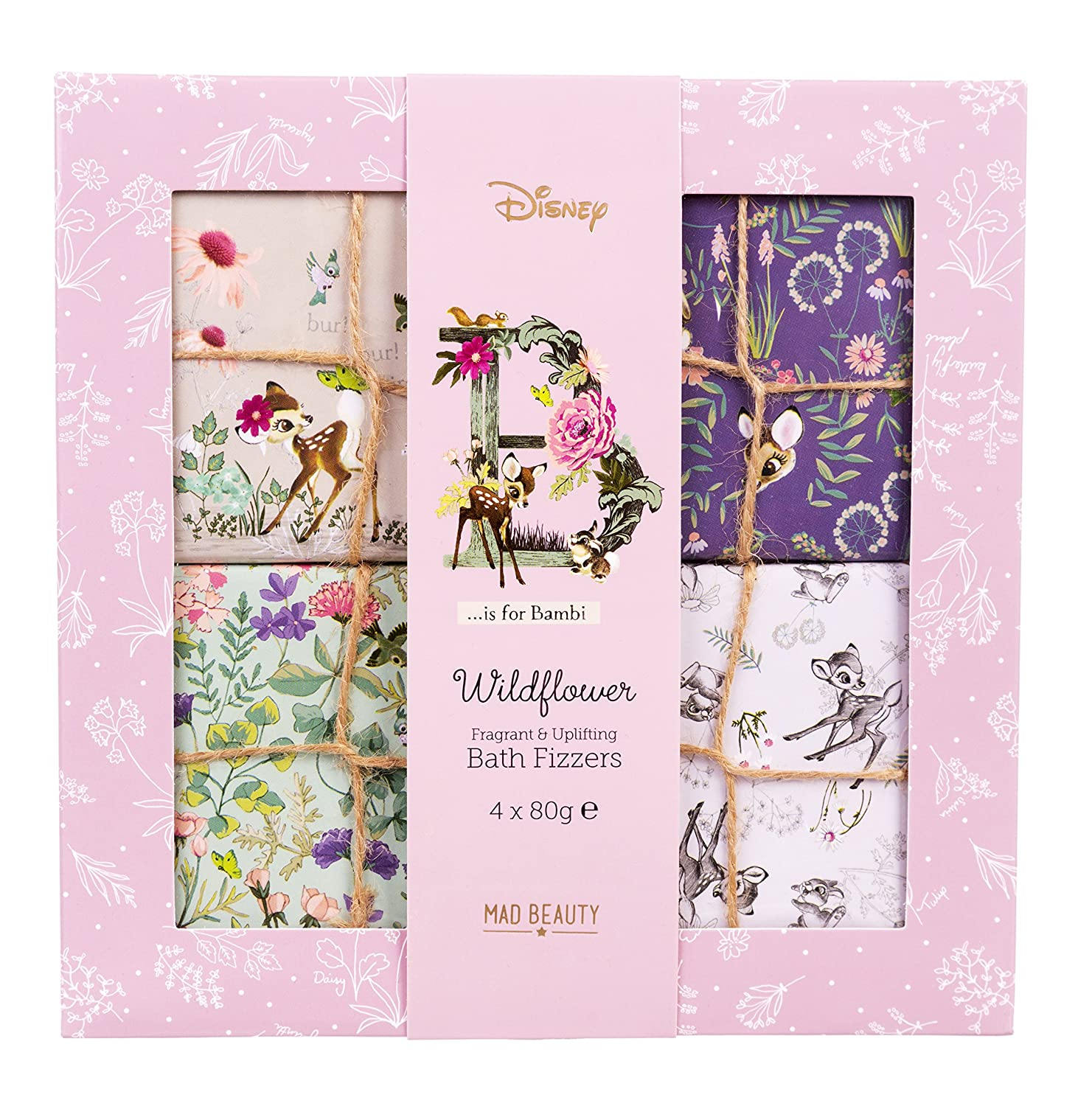 Bambi Disney Wildflower Bath Fizzers Set Mad Beauty