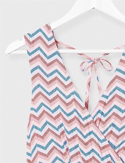Esprit Maternity Womens Dress Maxi Nursing Sl AOP