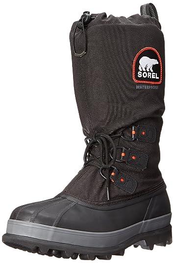 Awe Inspiring Amazon Com Sorel Mens Bear Extreme Snow Boot Snow Boots Short Hairstyles Gunalazisus