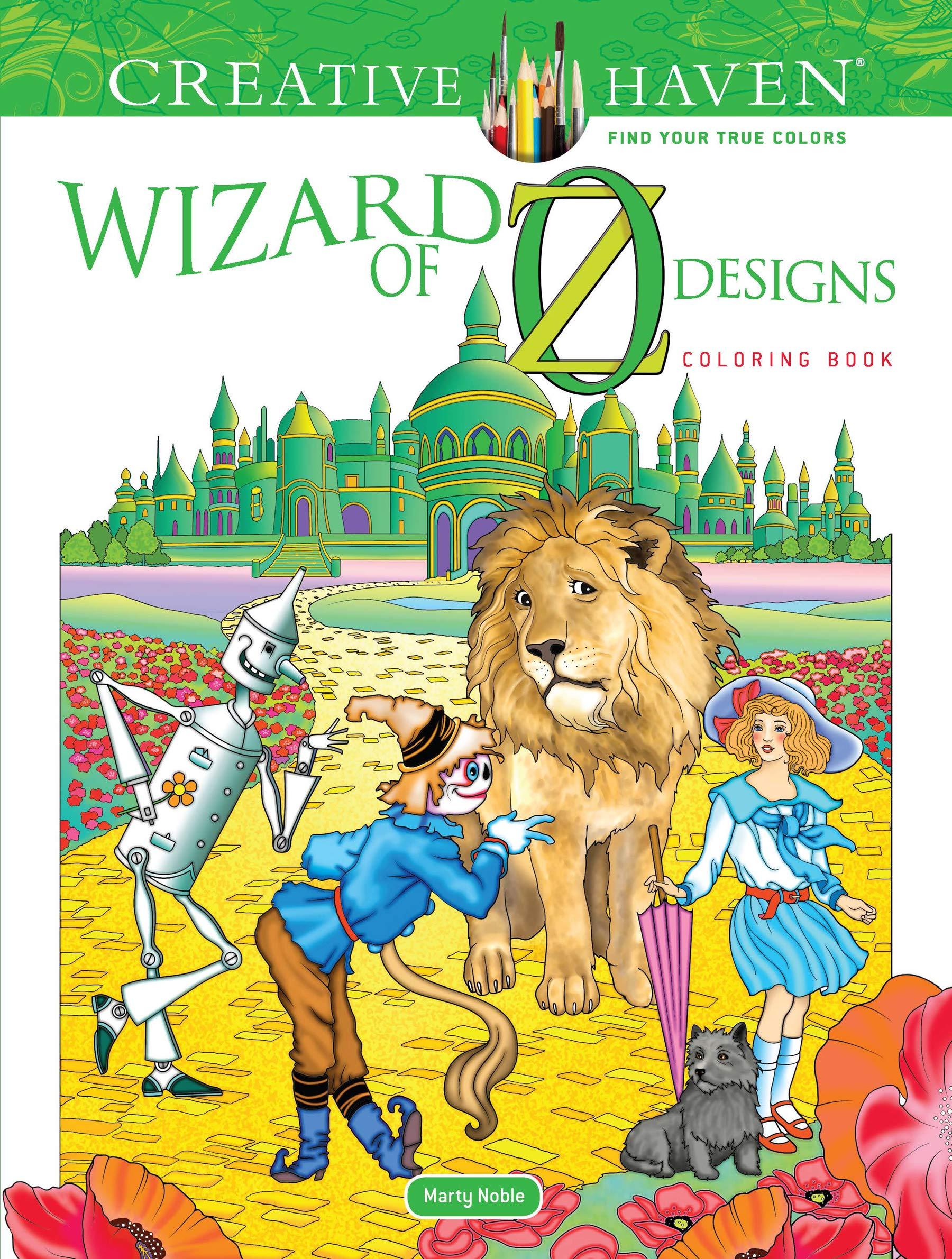 Creative Haven Wizard of Oz Designs Coloring Book (Adult Coloring) pdf