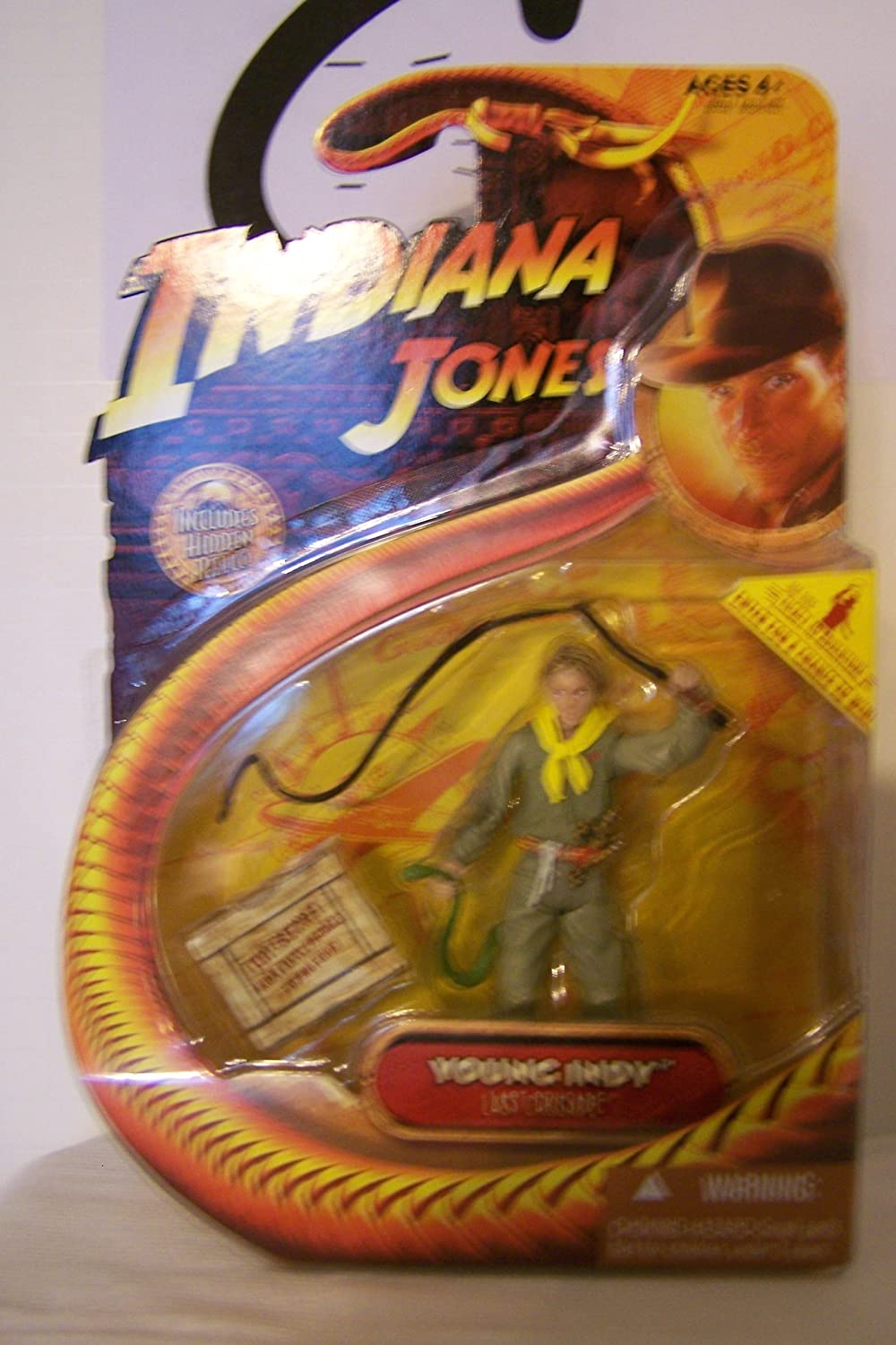 Indiana Jones 3 3/4 Inch - Young Indy - Last Crusade: Amazon.es: Juguetes y juegos