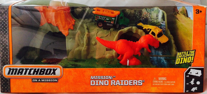 MATCHBOX ON A MISSION DINO RAIDERS