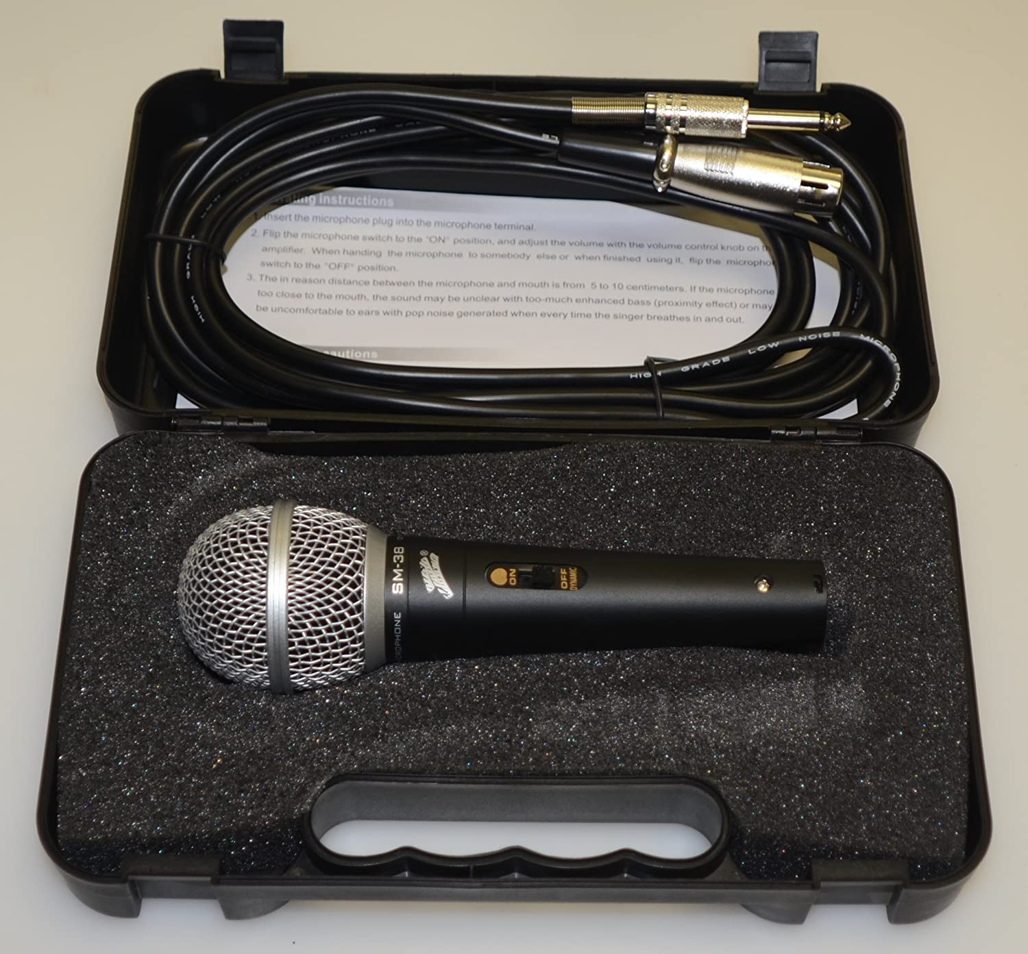 *SM38* MICROPHONE WIRED PROFESSIONAL nippon