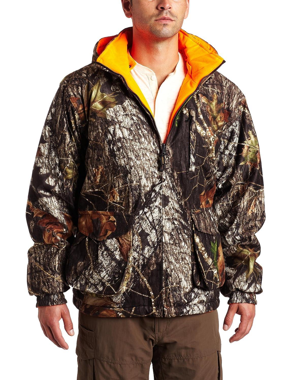 a05ed89328958 Yukon Gear Men's Reversible Insulated Jacket (Mossy Oak  Break-Up/Orange,XXL): Amazon.ca: Sports & Outdoors