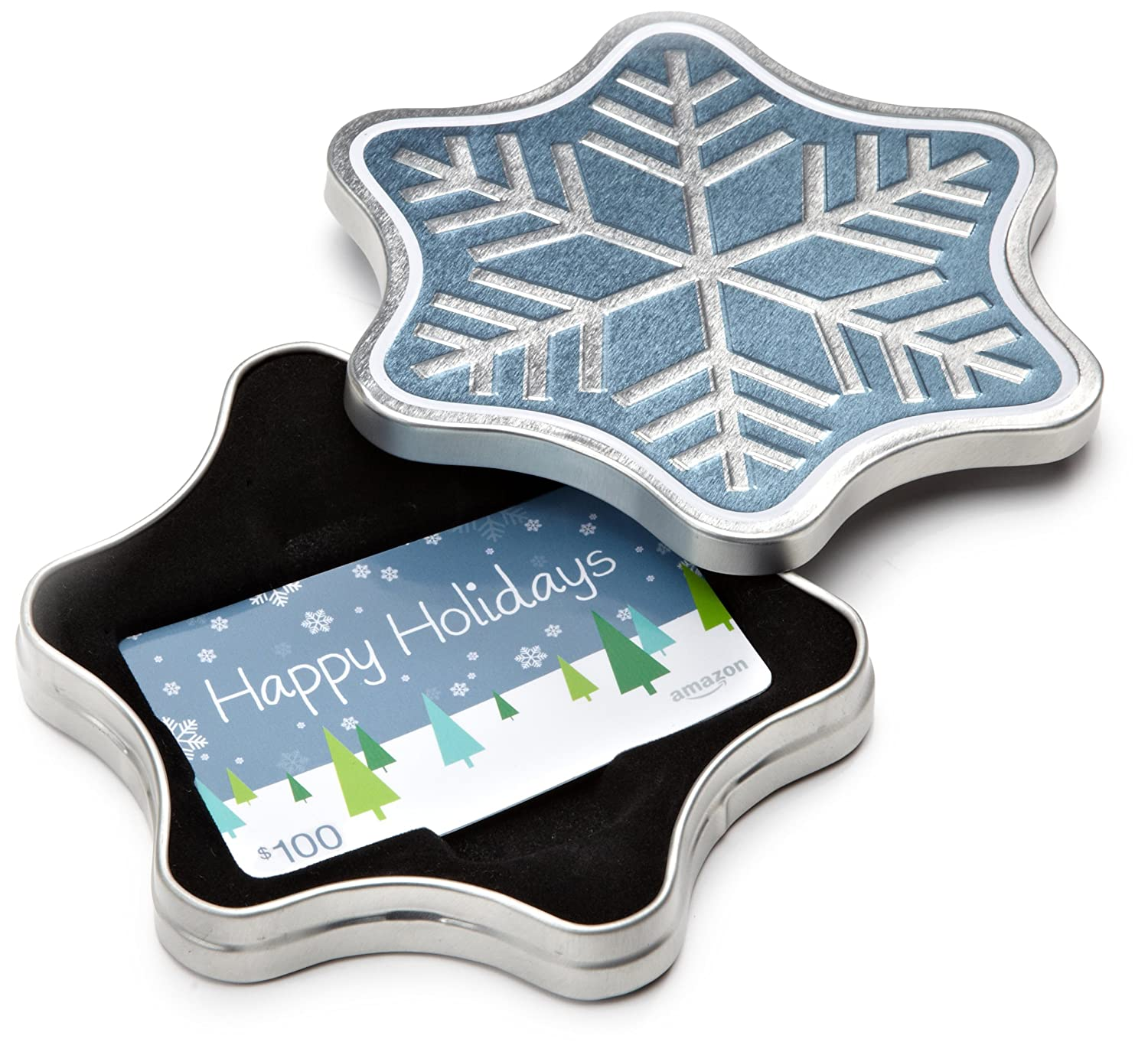 Amazon.ca Gift Card in a Snowflake Tin (Happy Holidays Card Design) Amazon.com.ca Inc.