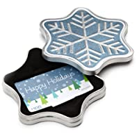 Amazon.ca Gift Card in a Snowflake Tin (Happy Holidays Card Design)