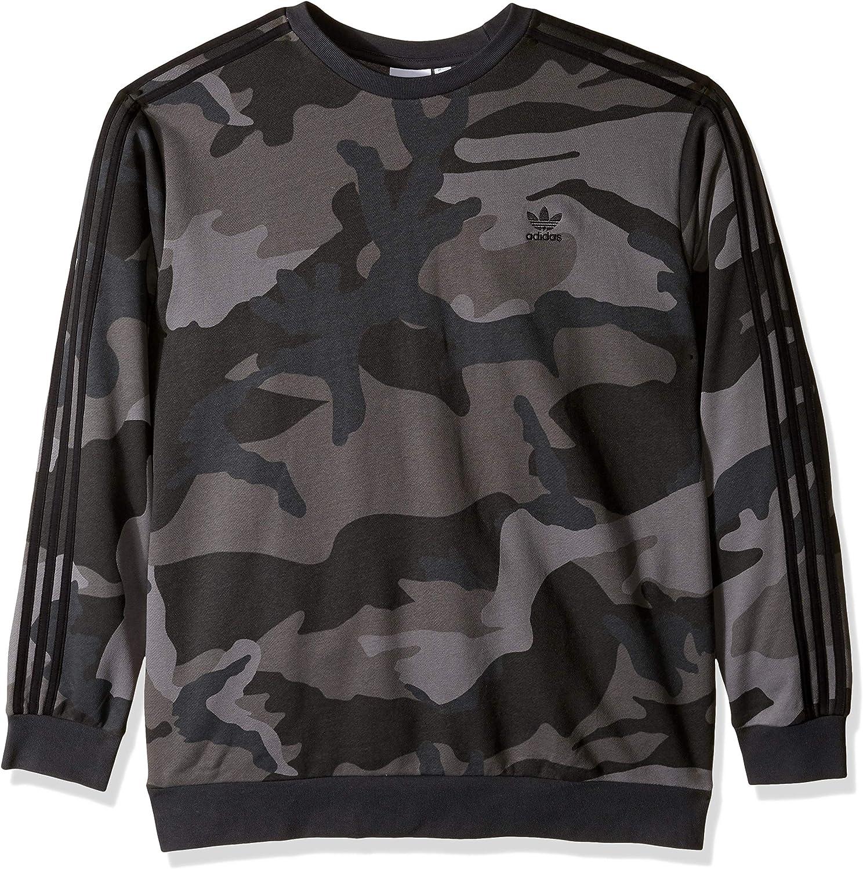 adidas Originals Men's Camo Crewneck Sweatshirt